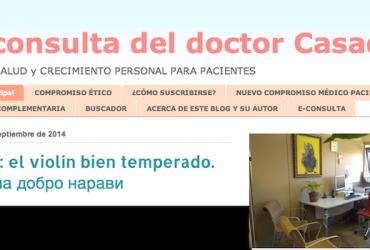 Entrevista al Doctor Salvador Casado. Pionero de la Blogosfera sanitaria.